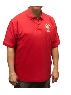 KC Red Shirt, short sleeve
